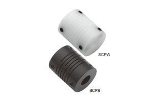 SCP 系列 開縫型/止付螺絲固定式/塑膠撓性聯軸器