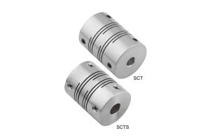 SCT/SCTS系列 開縫型/止付螺絲固定式/撓性聯軸器